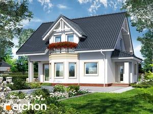 gotowy projekt Dom w żurawinie 3