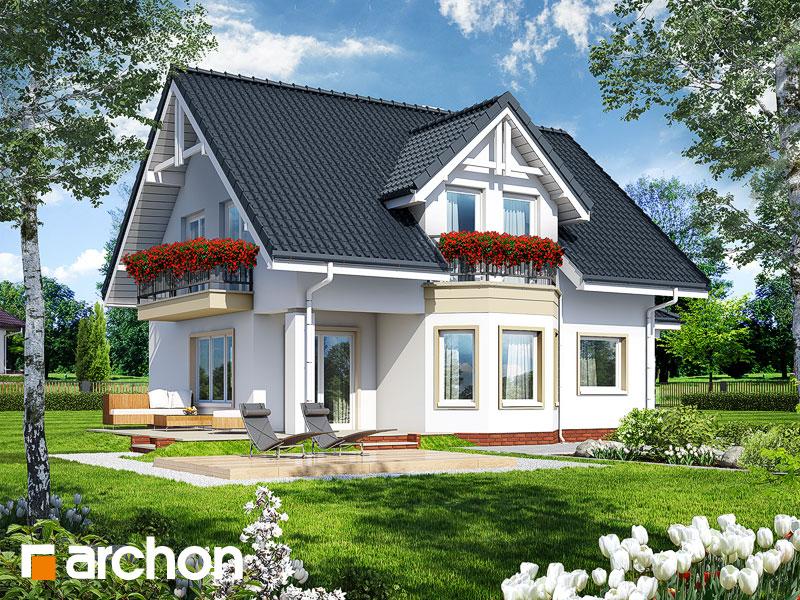 gotowy projekt Dom w żurawinie 3 widok 1
