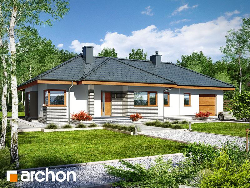 gotowy projekt Dom w gruszach (G) widok 1