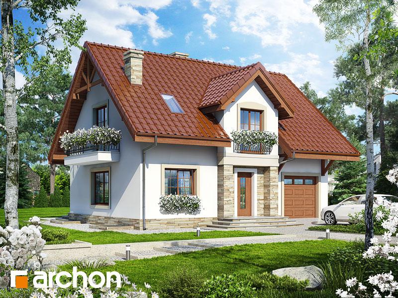 projekt Dom w lucernie (GP) widok 1