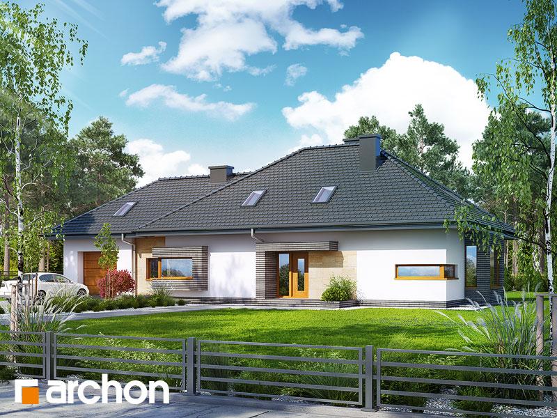 gotowy projekt Dom pod jarząbem 10 (PN) widok 1