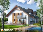 projekt Dom w klematisach 15 (B) Wizualizacja wszystkich segmentów