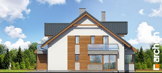 Elewacja boczna projekt dom w klematisach 15 b  265