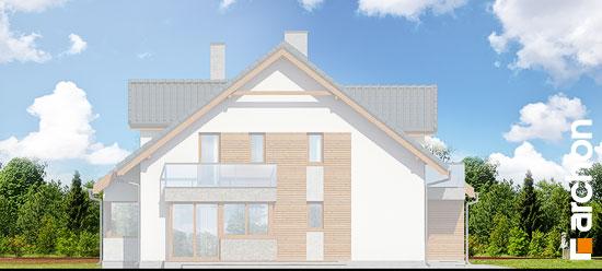 Elewacja boczna projekt dom w klematisach 15 b  266