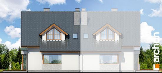 Elewacja ogrodowa projekt dom w klematisach 15 b  267