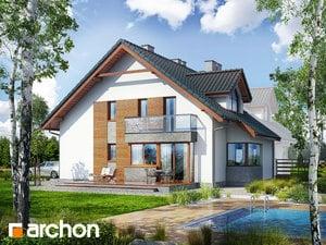 projekt Dom w klematisach 15 (B) widok 2