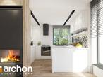 projekt Dom w żurawkach 2 (T) Wizualizacja kuchni 1 widok 1