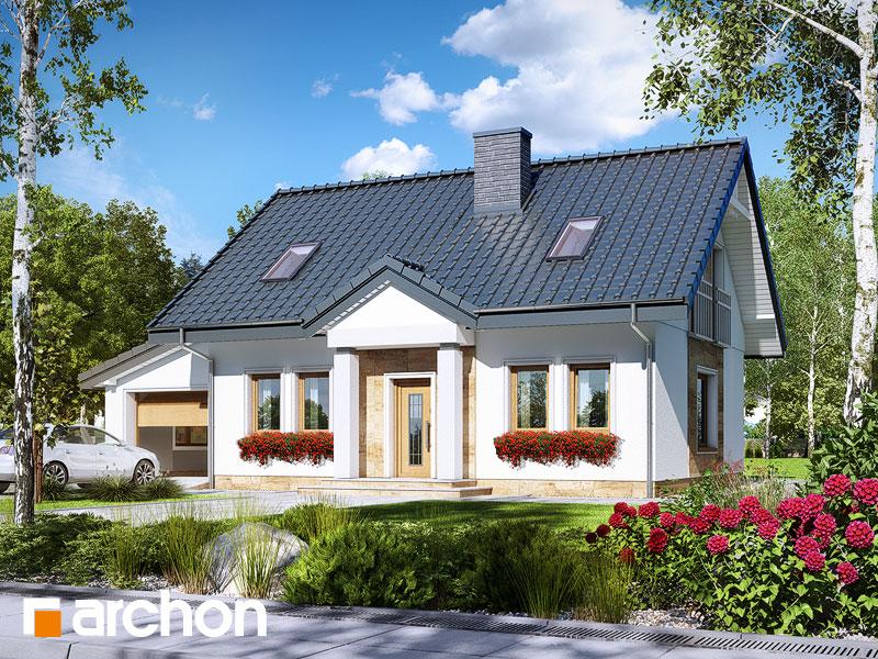 gotowy projekt Dom pod wierzbą (G) widok 1