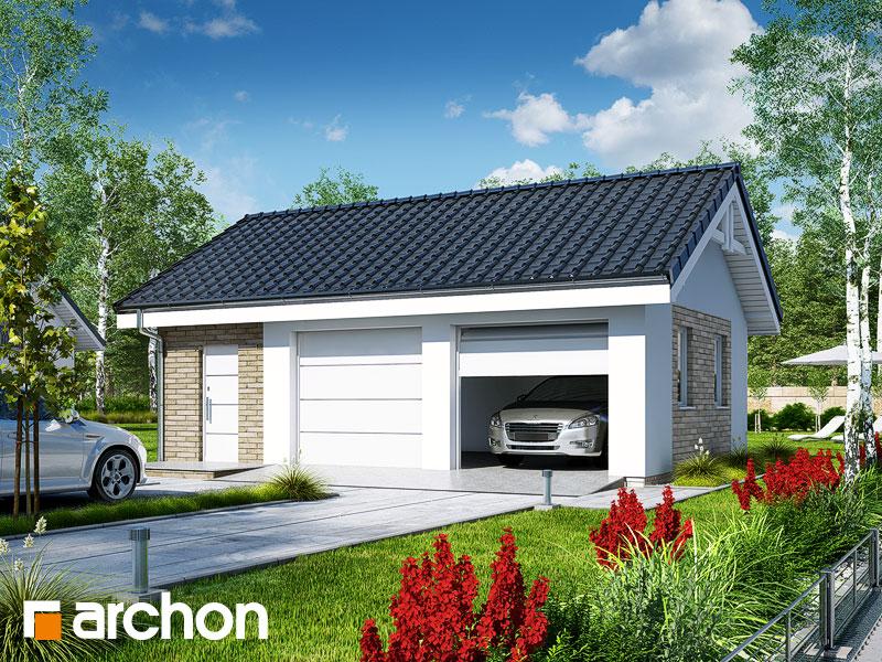 Projekt Garażu Garaż 2 Stanowiskowy G20 Archon