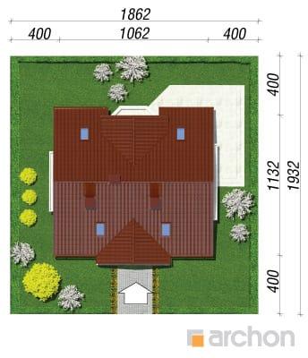 projekt Dom w truskawkach 2 sytuacja