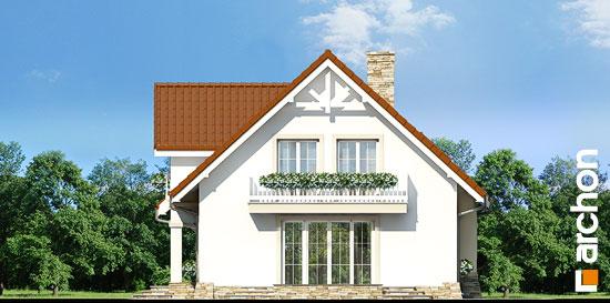 Elewacja boczna projekt dom w asparagusach ver 2  265
