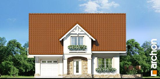 Elewacja frontowa projekt dom w asparagusach ver 2  264