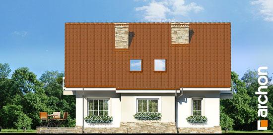 Elewacja ogrodowa projekt dom w asparagusach ver 2  267