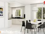 projekt Dom w asparagusach Aranżacja kuchni 2 widok 3