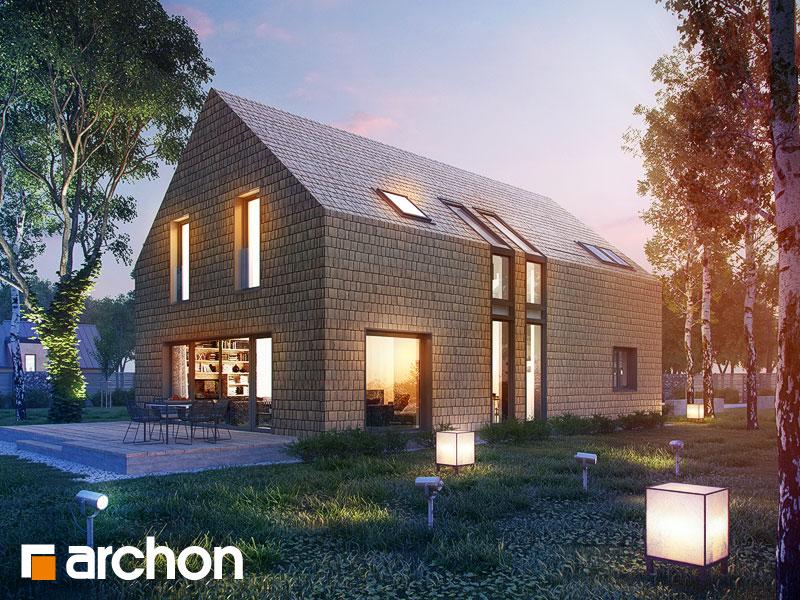 gotowy projekt Dom w amburanach widok 1