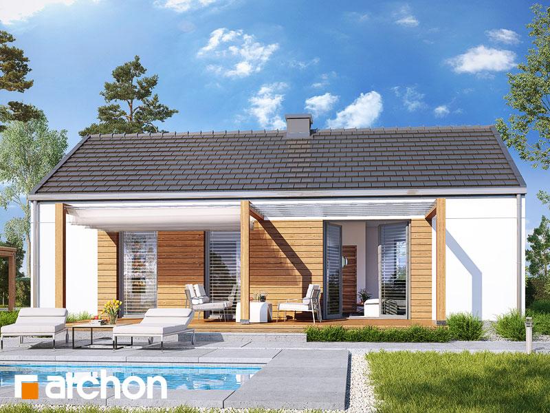 gotowy projekt Dom w kruszczykach 3 widok 1