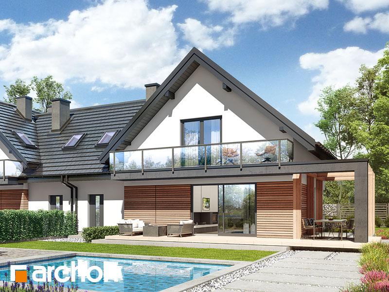 gotowy projekt Dom w faworytkach 2 (R2) widok 2