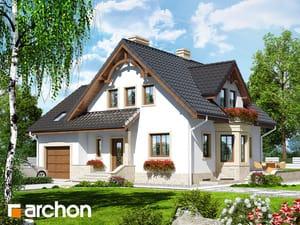 gotowy projekt Dom w tamaryszkach 2 (P)
