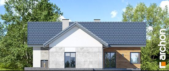 Elewacja ogrodowa projekt dom w galach 3 p  267