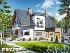 gotowy projekt Dom w amarylisach 5
