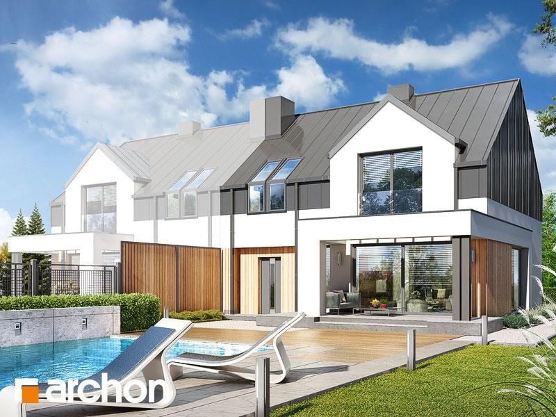 gotowy projekt Dom w gunnerach 2 (B) widok 1