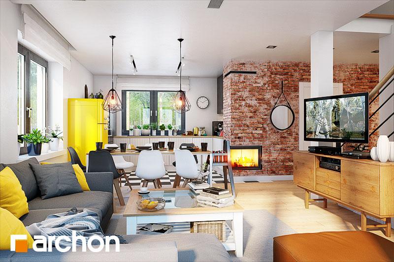 Projekt domu dom w zielistkach 5 archon for Designhotel 54