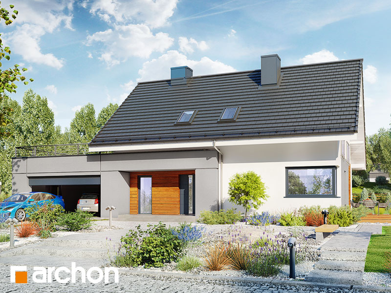 projekt Dom w malinówkach 4 (G2) widok 1