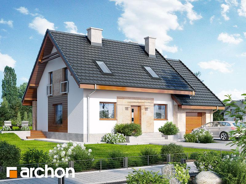 gotowy projekt Dom w filodendronach (M) widok 1