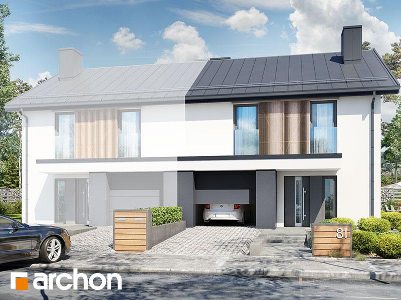 gotowy projekt Dom w narcyzach (BA) widok 1