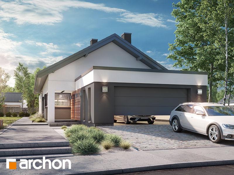 gotowy projekt Dom w modrzewnicy 6 (G2) widok 1