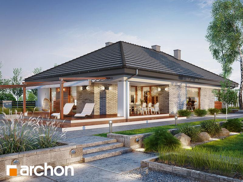 gotowy projekt Dom w modrzewnicy 2 (G2) widok 1