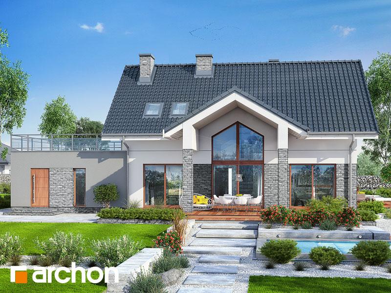 gotowy projekt Dom w granadillach (G2) widok 1