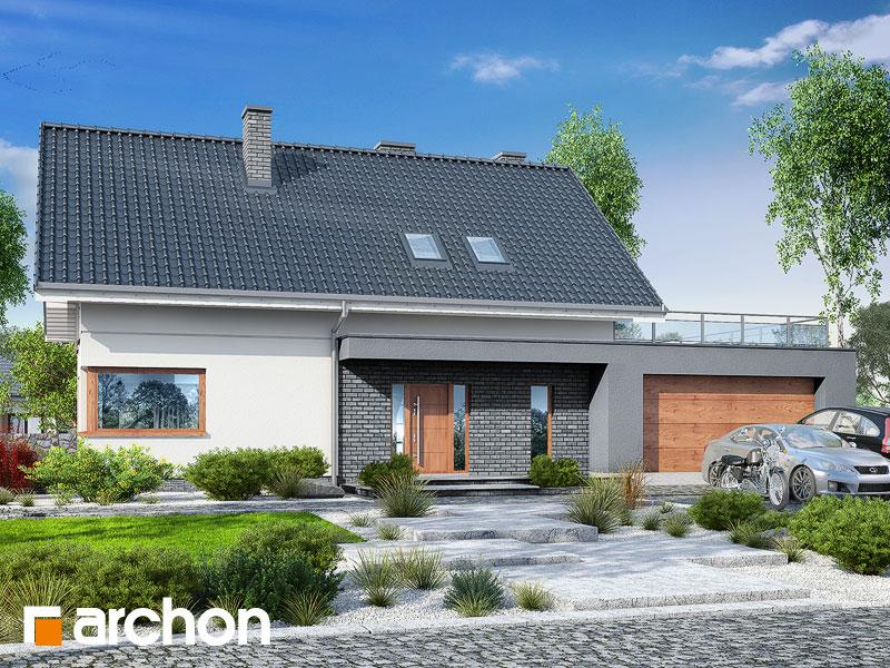 gotowy projekt Dom w granadillach (G2) widok 2