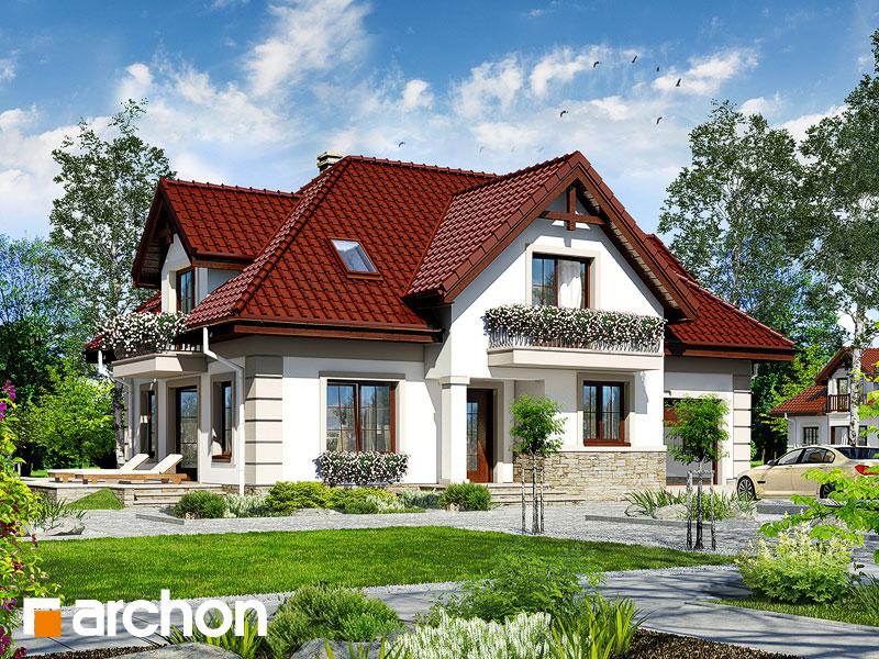 gotowy projekt Dom w alpiniach widok 1