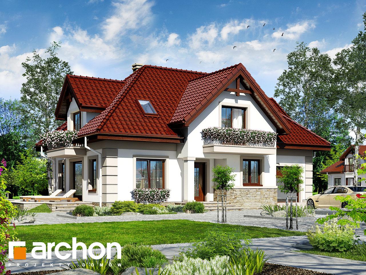 Projekt domu dom w alpiniach archon for Case in legno dalla romania