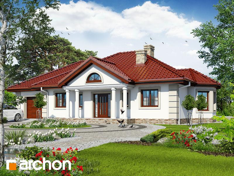 gotowy projekt Dom pod jarząbem 6 (G) widok 1
