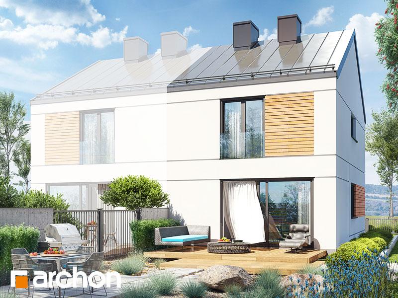 gotowy projekt Dom w tunbergiach (B) widok 1