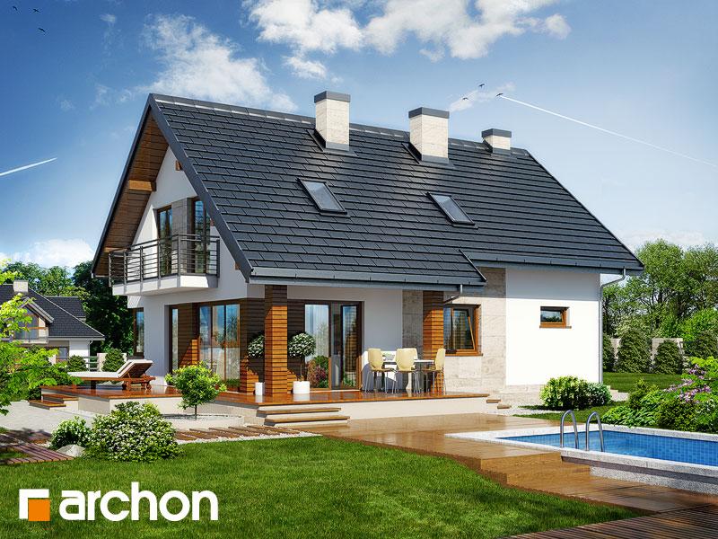 gotowy projekt Dom w idaredach 3 widok 1