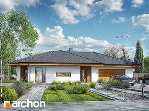 gotowy projekt Dom w amarantusach 6 (G2)