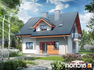 projekt Dom w zielistkach 5 (P) lustrzane odbicie 1