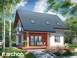 projekt Dom w zielistkach 5 (P) widok 2