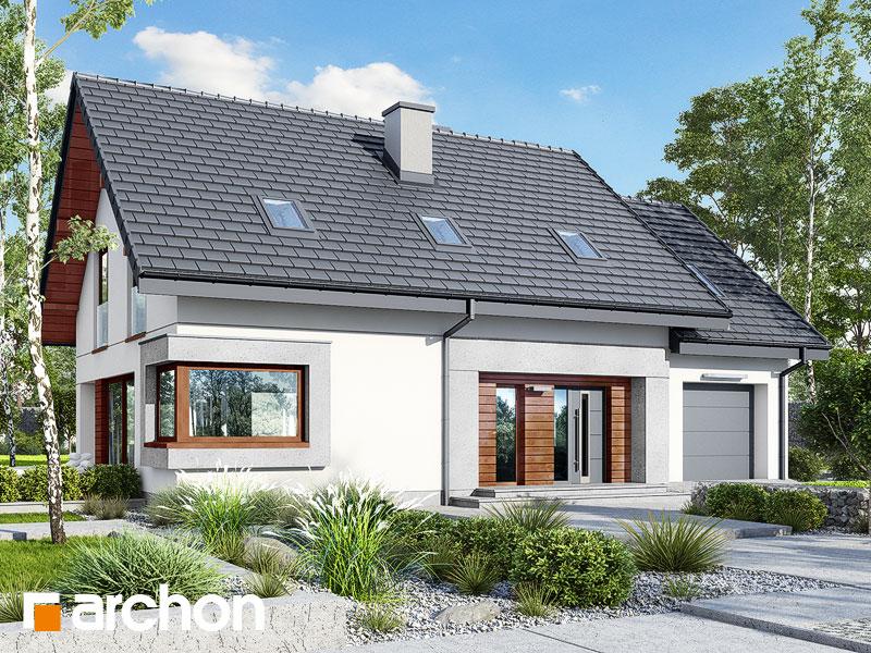 gotowy projekt Dom w szmaragdach 3 (G) widok 1
