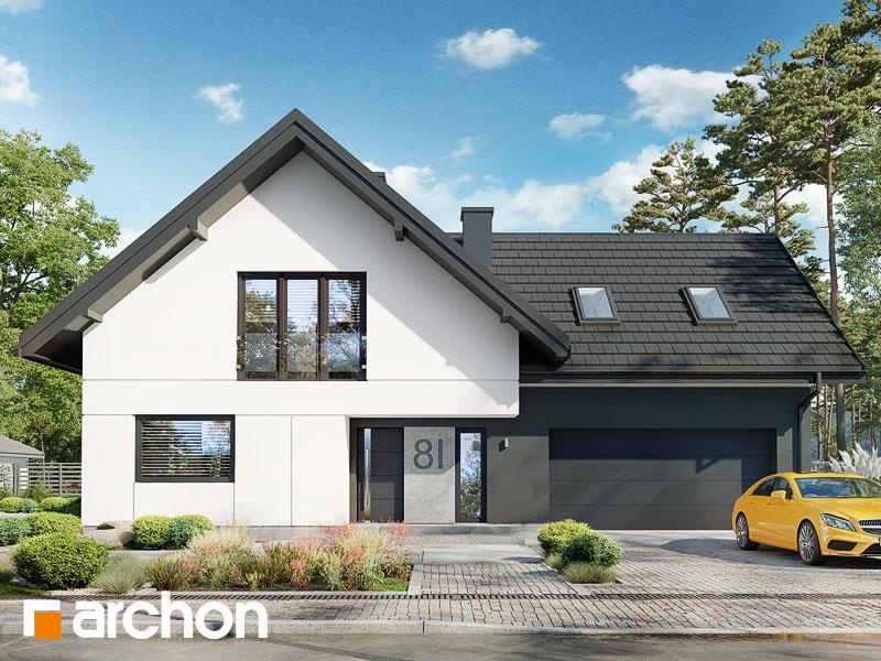 gotowy projekt Dom w kraspediach (G2) widok 1