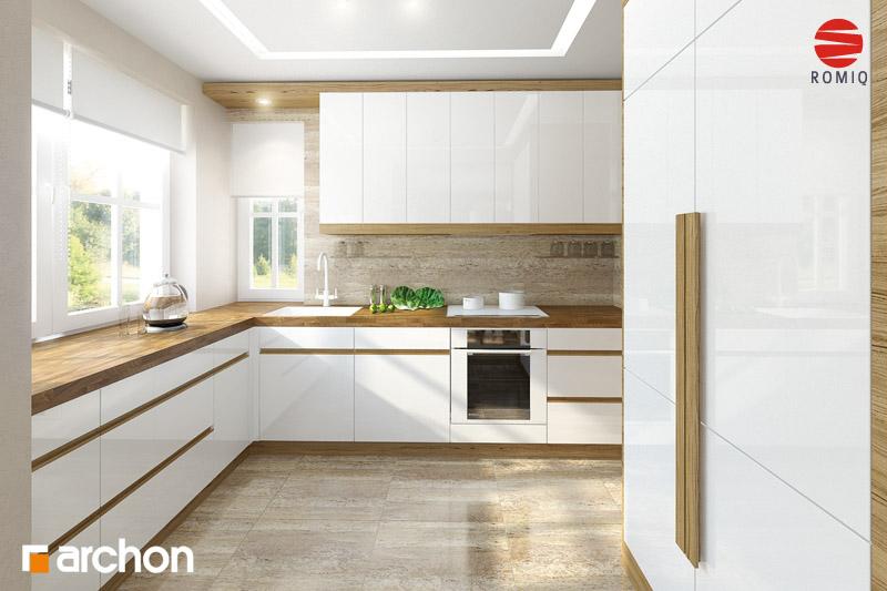 Aranżacje kuchni do projektów domów - ARCHON+ - strona 8