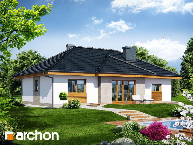 gotowy projekt Dom w akebiach 3 widok 1