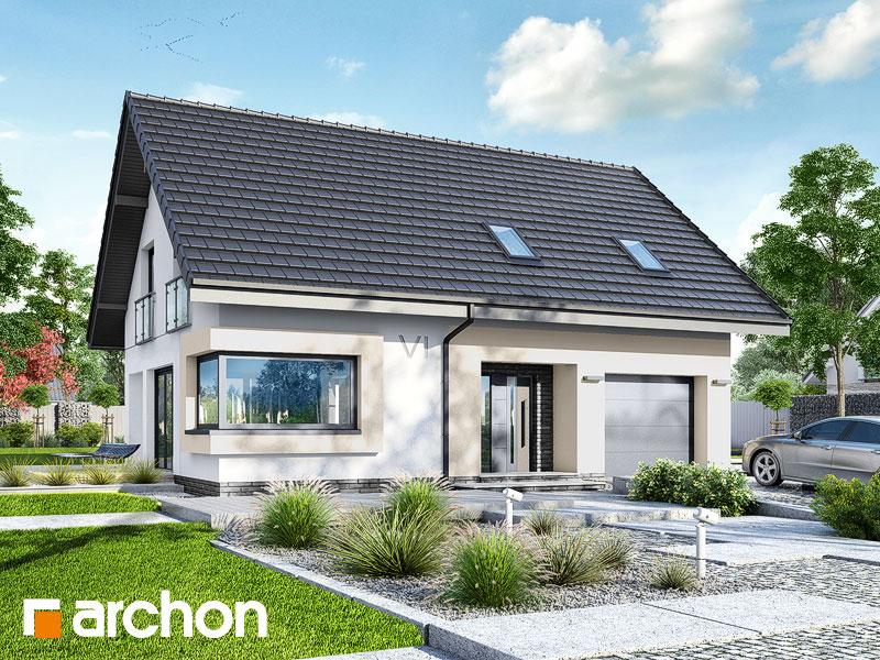 gotowy projekt Dom w zdrojówkach (E) widok 1