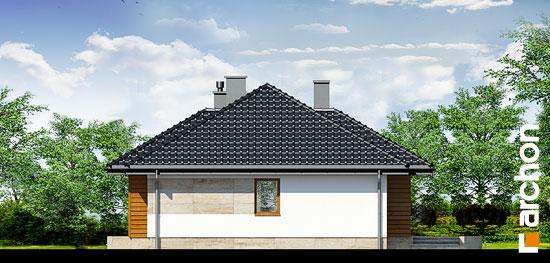 Elewacja boczna projekt dom w akebiach ver 2  265