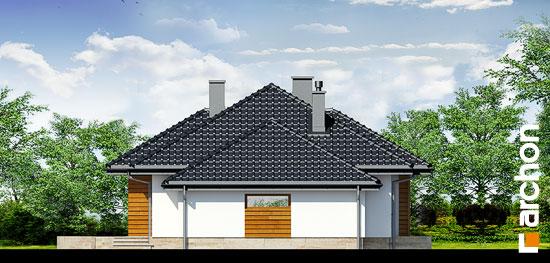 Elewacja boczna projekt dom w akebiach ver 2  266