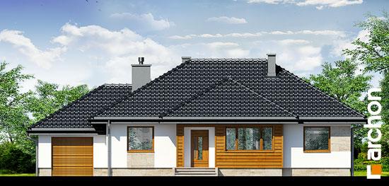 Elewacja frontowa projekt dom w akebiach ver 2  264
