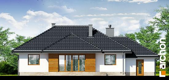 Elewacja ogrodowa projekt dom w akebiach ver 2  267